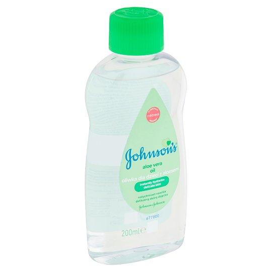 Johnson's Dětský olej s aloe vera 200ml