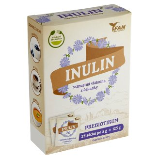 FAN Sladidla Inulin rozpustná vláknina 25 x 5g