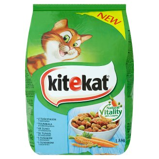 Kitekat Tuna with Vegetables Complete Food for Adult Cats 1.8kg