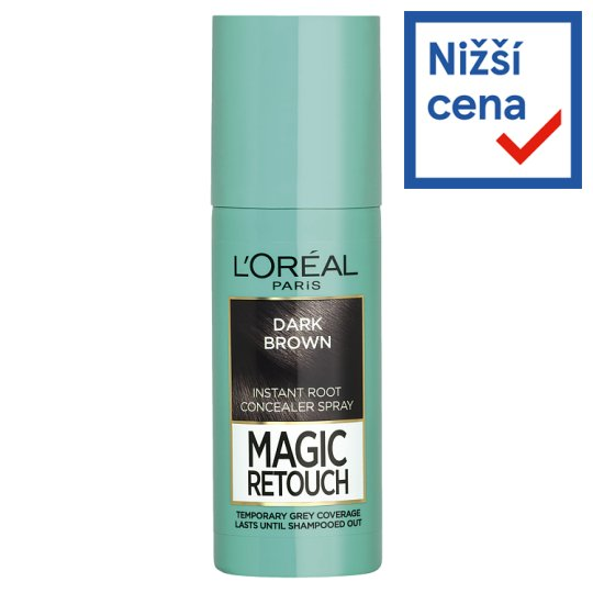 L'Oréal Paris Magic Retouch Dark Brown Instant Root Concealer Spray 75ml