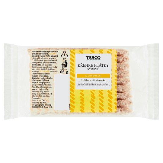 Tesco Fragile Cheese Slices 65g