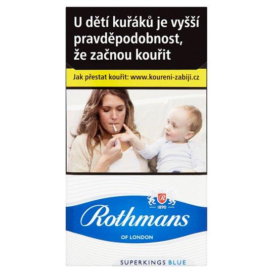 Rothmans Blue 100´s cigarety s filtrem 20 ks