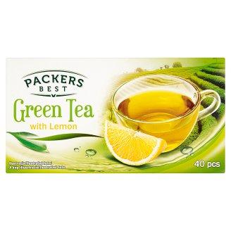 Packers Best Zelený čaj s citronovou příchutí 40 x 1,75g