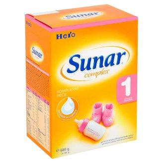 Sunar Complex 1 počáteční sušená mléčná kojenecká výživa 2 x 300g