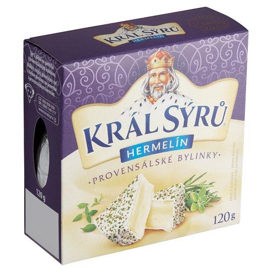 Král Sýrů Camembert Provencal Herbs 120g