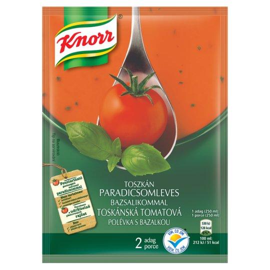 Knorr Krémová tomatová polévka s bazalkou 66g