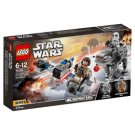 LEGO STAR WARS Sněžný spídr a kráčející kolos Prvního řádu 75195