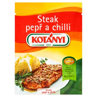 Kotányi Steak pepř a chilli 30g