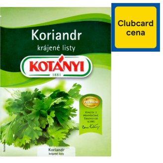 Kotányi Coriander Sliced Leaves 6g