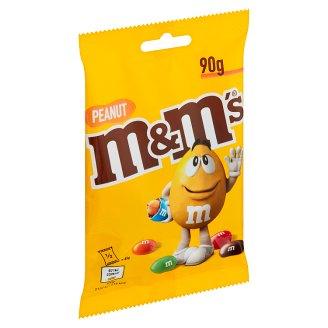 M&M's Dražé plněné praženými arašídy v mléčné čokoládě a cukrové polevě 90g