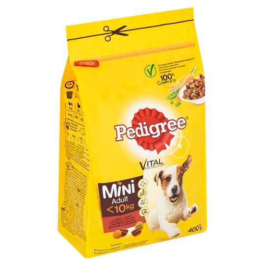 Pedigree Vital Protection Mini with Beef and Vegetable 400g