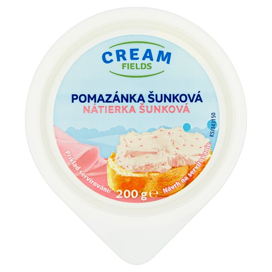 Cream Fields Ham Spread 200g