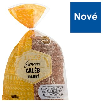 Tesco Šumava Bread Sliced 600g