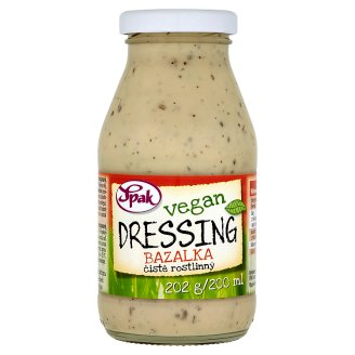 Spak Vegan Basil Dressing 200ml
