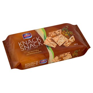 Racio Knäck Snack Rye with Seeds 100g
