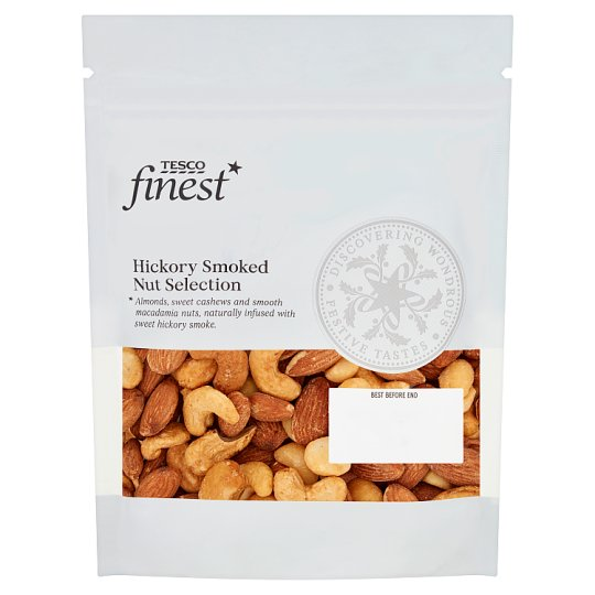 Tesco Finest Hickory Smoked Nut Selection 225g