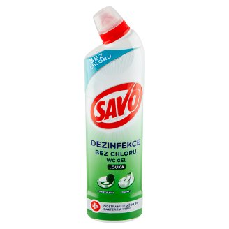 Savo WC Liquid Detergent and Disinfectant Meadow 750ml