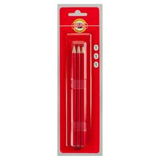 KOH-I-NOOR Set of Graphite Pencils Hardness 1 3 pcs