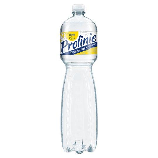 Poděbradka ProLinie Jemně perlivá citron 1,5l