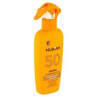 Nubian Mléko na opalování sprej SPF 50 200ml