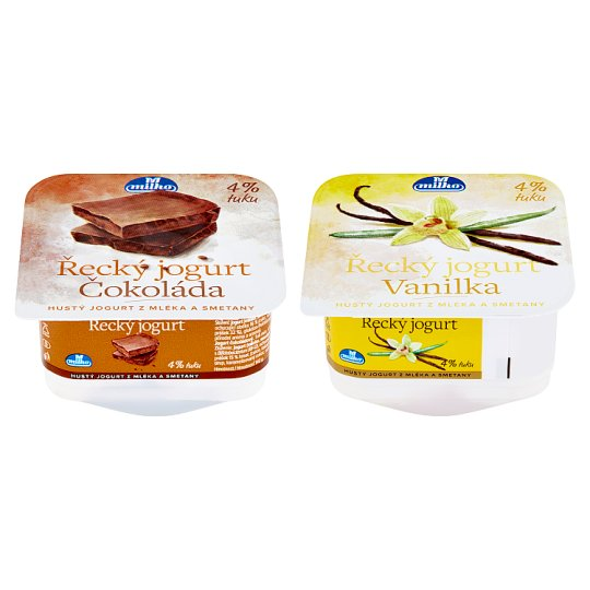 Milko Greek Yoghurt Vanilla / Chocolate 140g