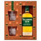Tullamore D.E.W. Irish Whiskey 700ml + 2 Glasses
