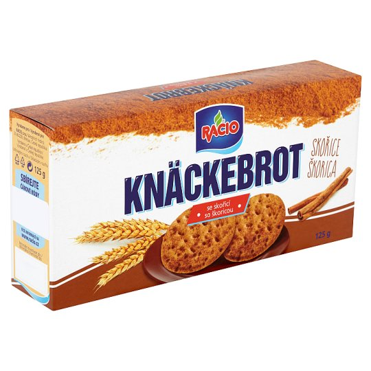 Racio Knäckebrot with Cinnamon 125g