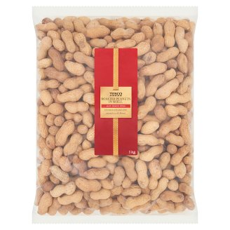 Tesco Roasted Peanuts in Shell 1kg