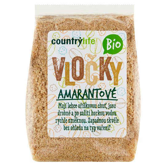 Country Life Organic Amaranth Flakes 250g