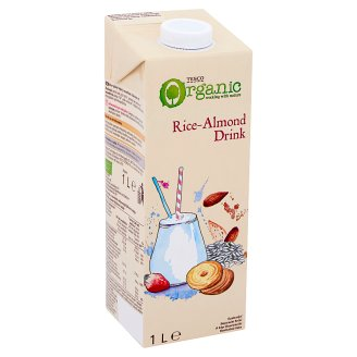Tesco Bio Rice Drink with Almonds 1L