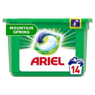 Ariel Mountain Spring Kapsle Na Praní Prádla 3v1 14Praní