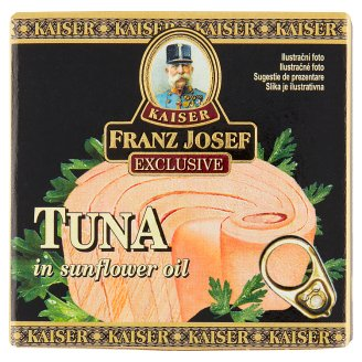 Kaiser Franz Josef Exclusive Tuna Steak in Sunflower Oil 80g