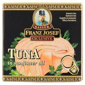 Kaiser Franz Josef Exclusive Tuňák steak ve slunečnicovém oleji 80g
