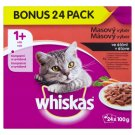 Whiskas Meat Menu in Juice Complete Food for Adult Cats 24 x 100g