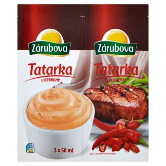 Zárubova Tartar Sauce with Peppers 2 x 50ml
