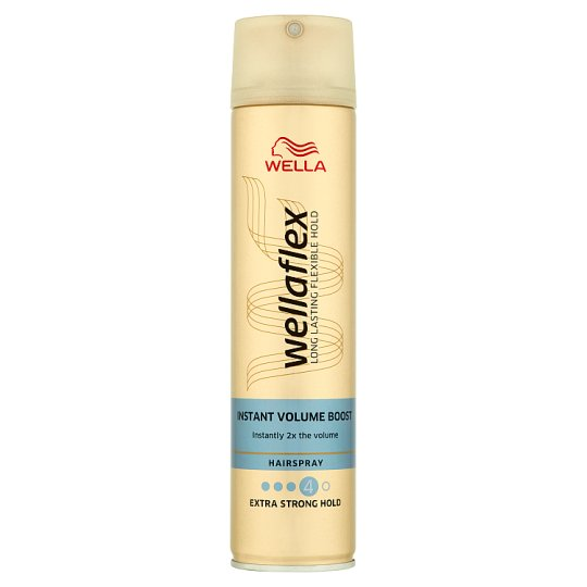 Wella Wellaflex Instant Volume Boost lak na vlasy Extra Strong Hold 250ml