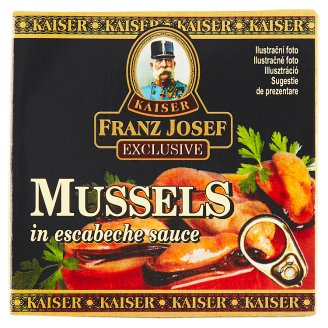 Kaiser Franz Josef Exclusive Mušle v nálevu escabeche 80g