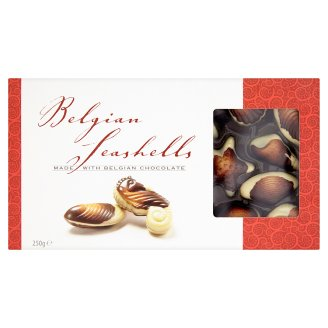 Seashells Made with Belgian Chocolate 250g