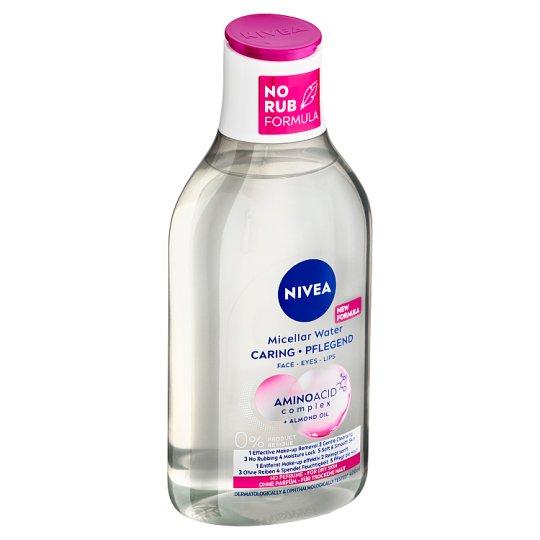 Nivea MicellAir Jemná micelární voda pro suchou až citlivou pleť 400ml