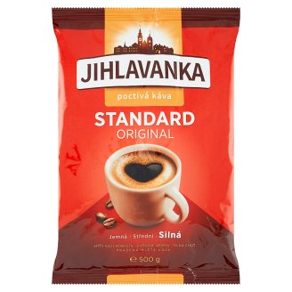 Jihlavanka Standard Original Roasted Ground Coffee 500g