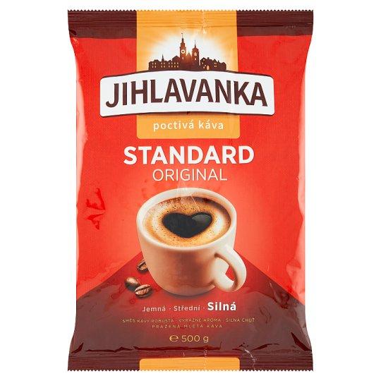 Jihlavanka Standard original pražená mletá káva 500g