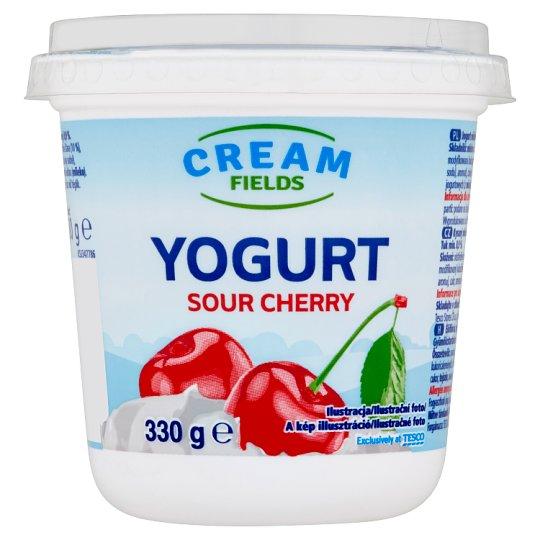 Cream Fields Yogurt Sour Cherry 330g