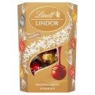 Lindt Lindor Směs mléčné, mléčné s lískovými ořechy, bílé a extra hořké čokolády 200g