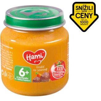 Hami masozeleninový příkrm Hovězí na zelenině od uk. 6. měsíce 125g