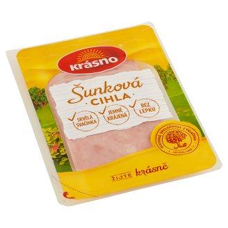Krásno Ham Brick Sliced 100g