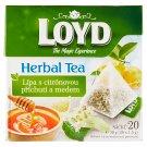 Loyd Herbal Tea Lípa s citrónovou příchutí a medem 20 x 1,5g