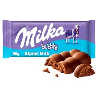 Milka Bubbly Alpine Milk 90g