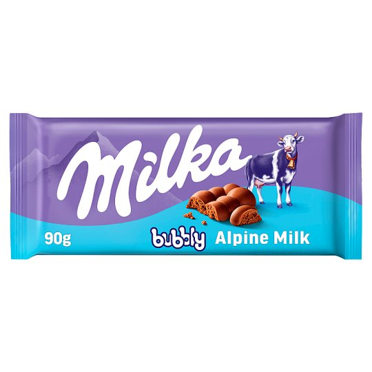 Milka Bubbly Alpine Milk 90g