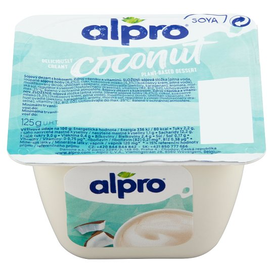 Alpro Soy Dessert with Coconut 125g