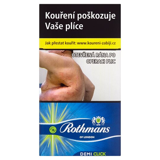 Rothmans Demi Click cigarety s filtrem 20 ks